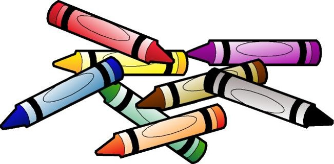 Crayola markers clipart.
