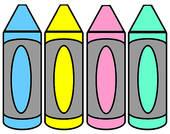 Crayola Crayons Clipart.