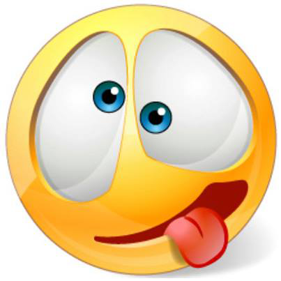 Smiley Crazy Face.