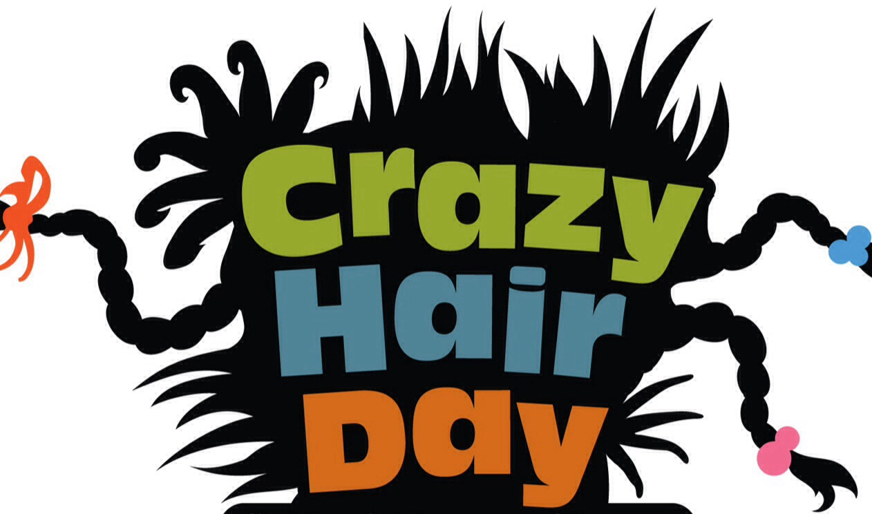 Crazy Hair Day Clipart.