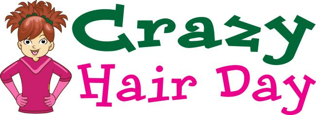 Crazy Hair Day clip art from PTO Today..