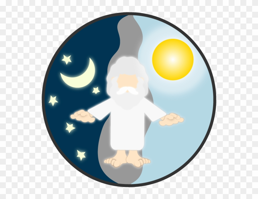 Creation Clipart Day Night.