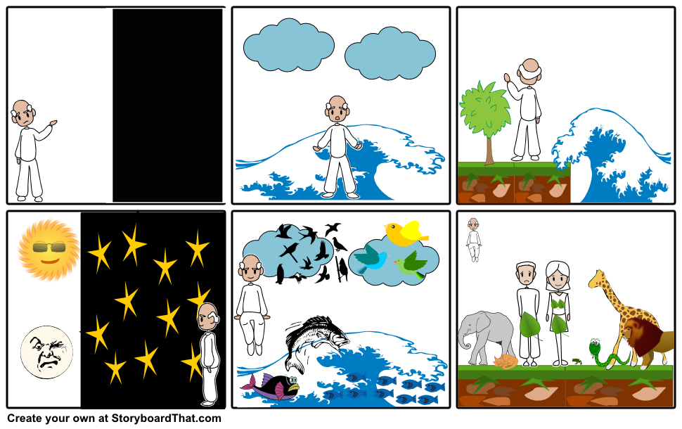 clipart creation story clipground
