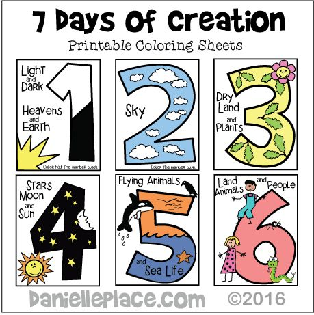 17 Best ideas about Creation Coloring Pages on Pinterest.