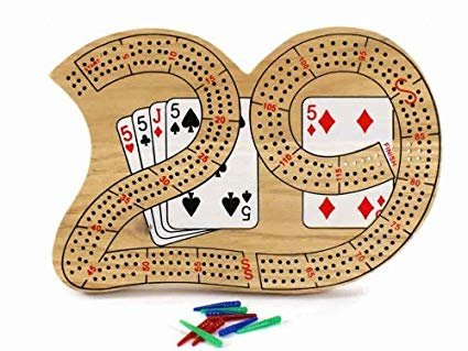Wood 29 Cribbage Board by JTOYS.