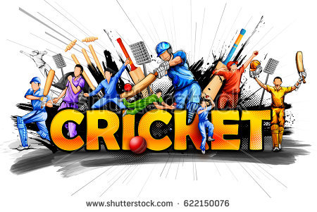 Cricket Tournament Clipart.