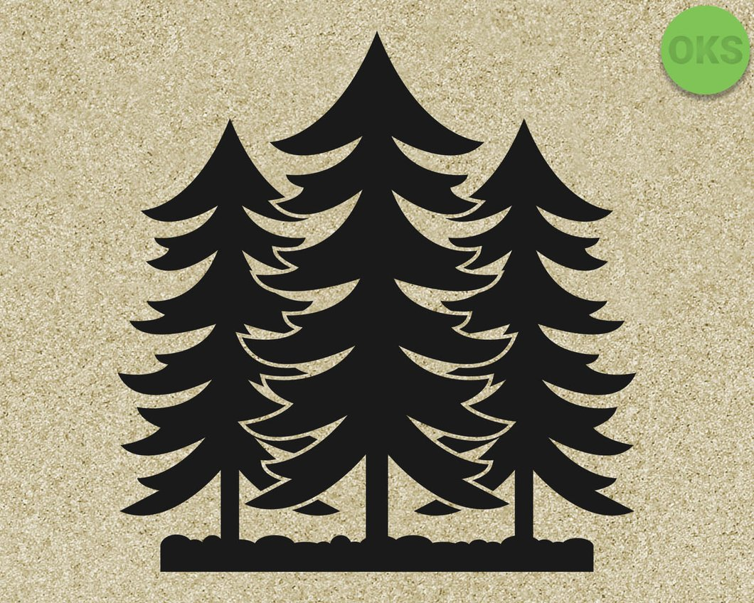 forest svg, dxf, vector, eps, clipart, cricut, download.