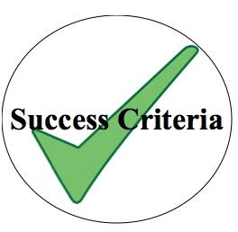 Criteria Clipart.