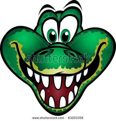Alligator Mascot Stock Images, Royalty.