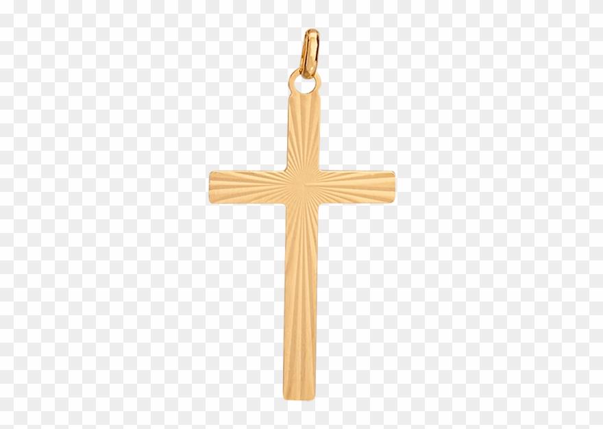 Croix Cleor En Or 375/1000 Jaune.