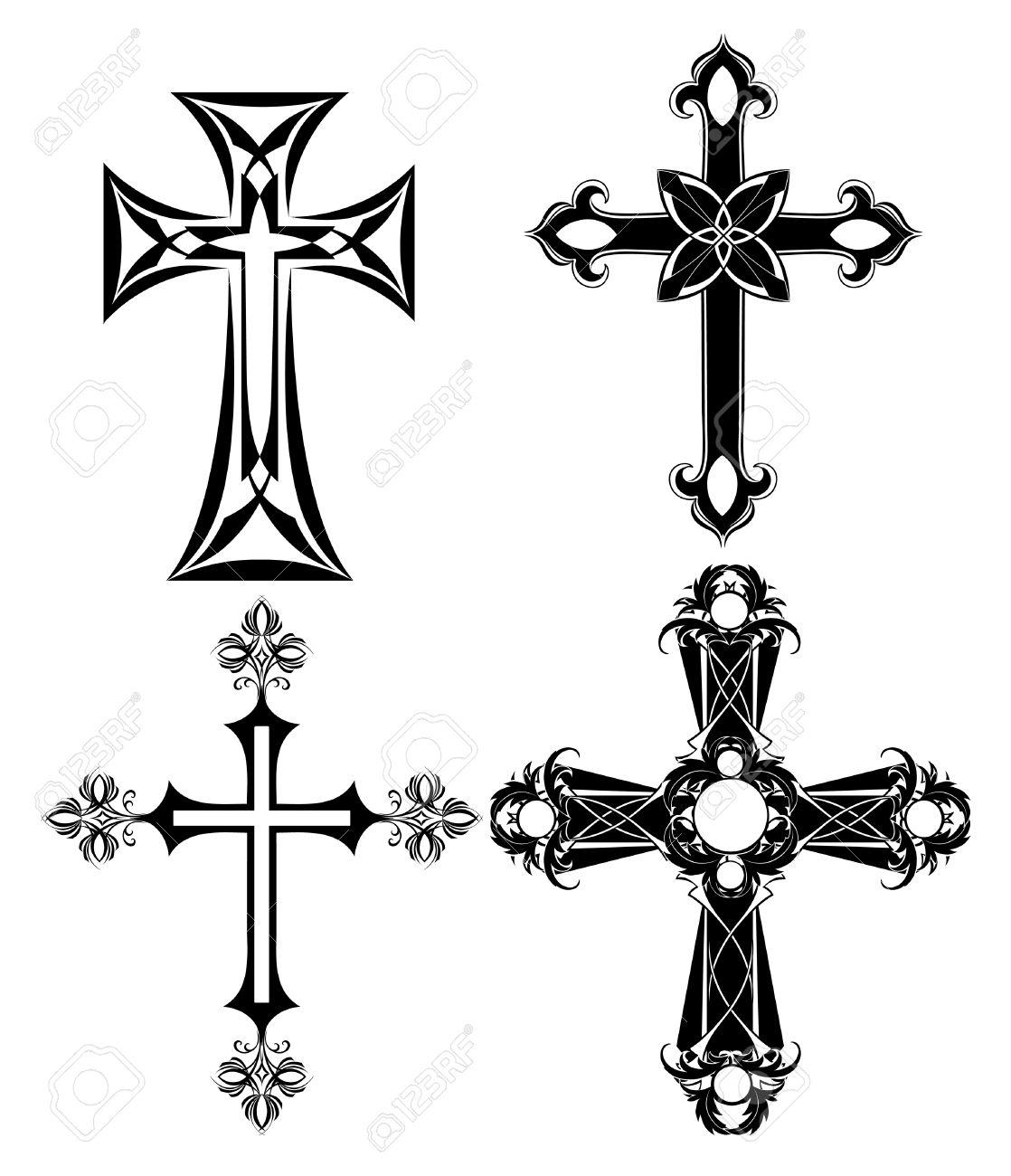 Clipart Croix Bapteme.