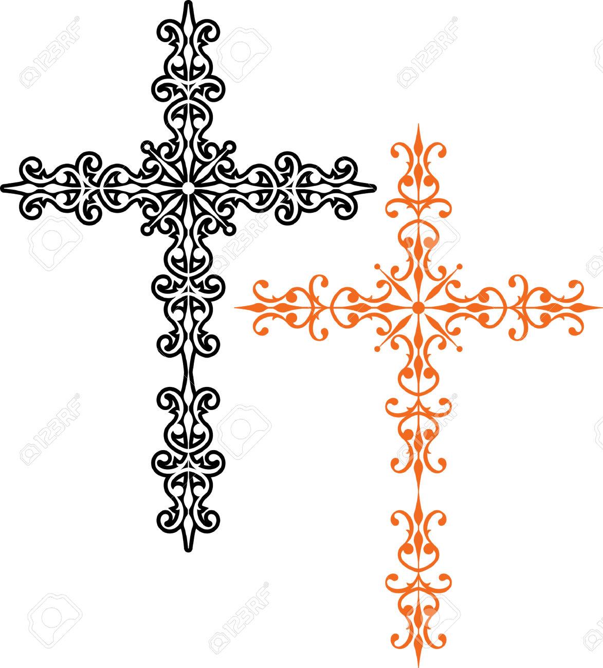 Croix Chrétienne Clipart.