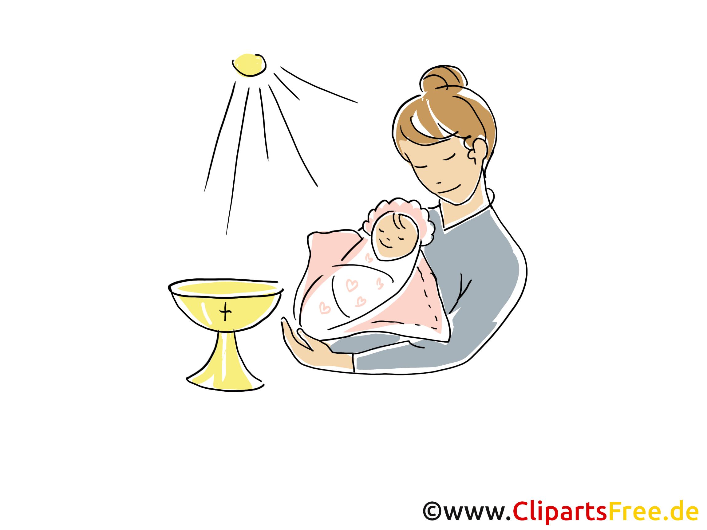 Baptême.