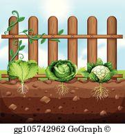 Crops Clip Art.