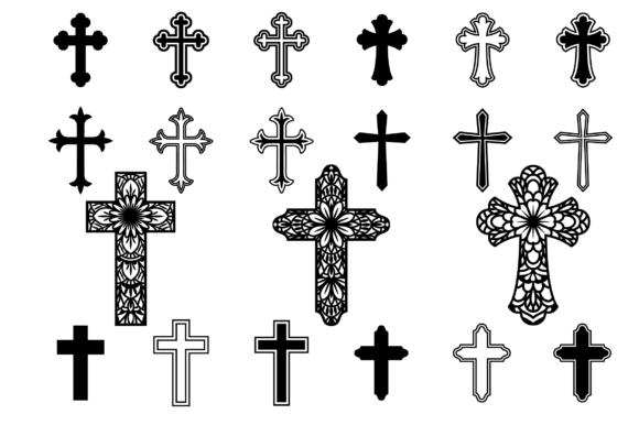 Cross SVG, Crosses Clipart, Christian Svg Files.