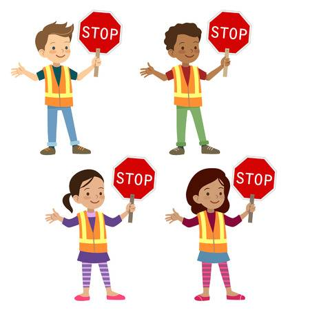 Crossing guard clipart 7 » Clipart Station.