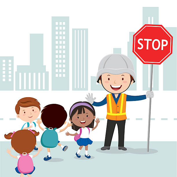 Crossing guard clipart » Clipart Station.
