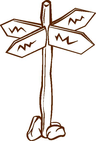 Crossroads Sign Clip Art at Clker.com.