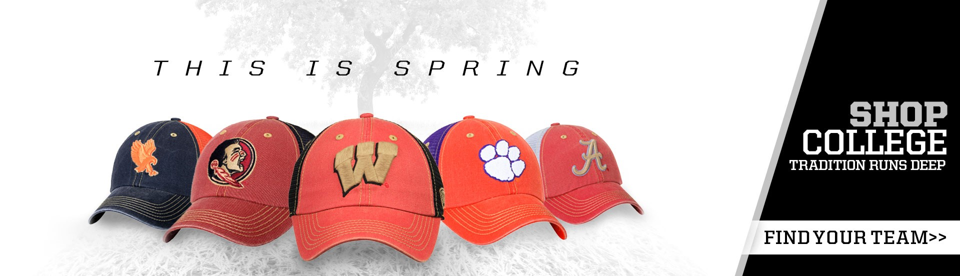 Shop college hats from Top of the World Headwear.