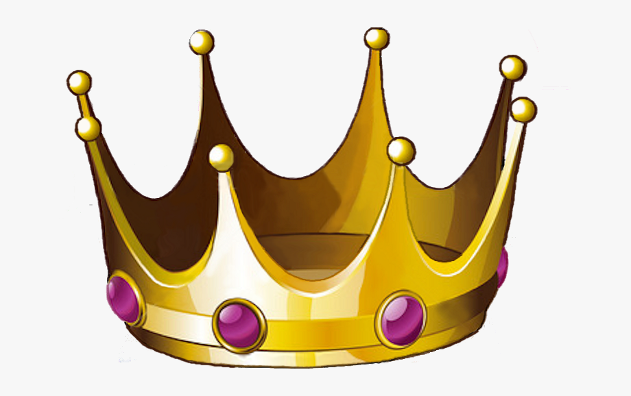 Crowns Clipart Tilted.