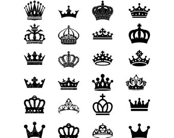 Collection of 14 free Tiara clipart svg aztec clipart vintage.
