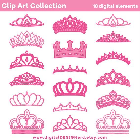 Clipart tiaras and crowns 3 » Clipart Portal.