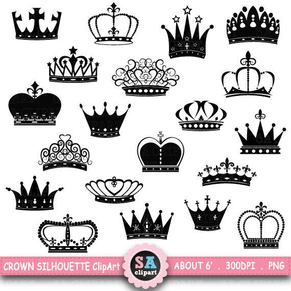 Crown Silhouette ClipArt \