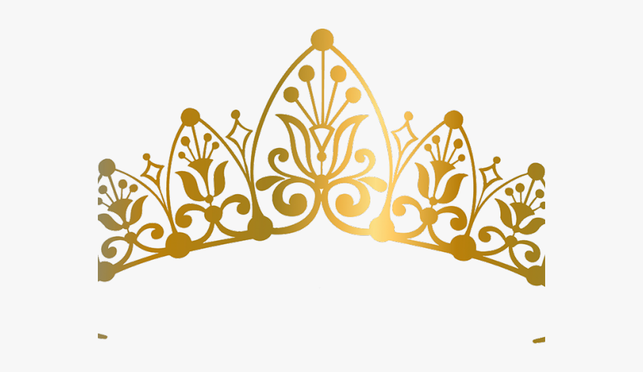Queen Clipart Golden Crown.