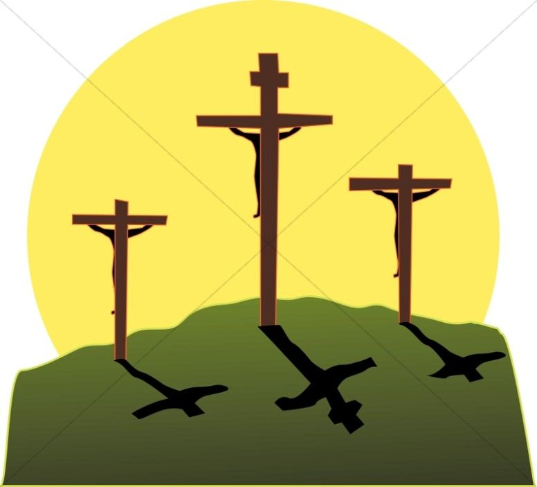 Crucifixion in Three Colors.