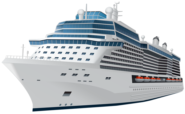 Cruise Ship Transparent PNG Clip Art Ima #53246.