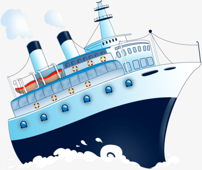 Cartoon Cruises, Cartoon Clipart, Ship, Cruise Ship PNG Transparent.