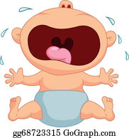 Crying Baby Clip Art.
