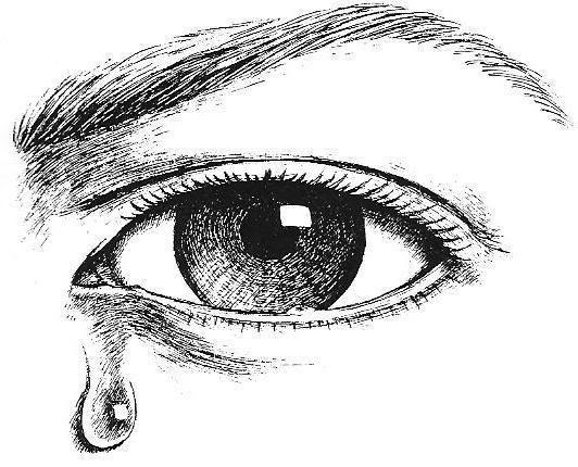 Crying Eyes Clip Art.