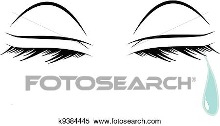 Crying eyes Clipart.