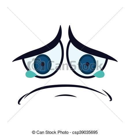 Sad Eyes Drawing.