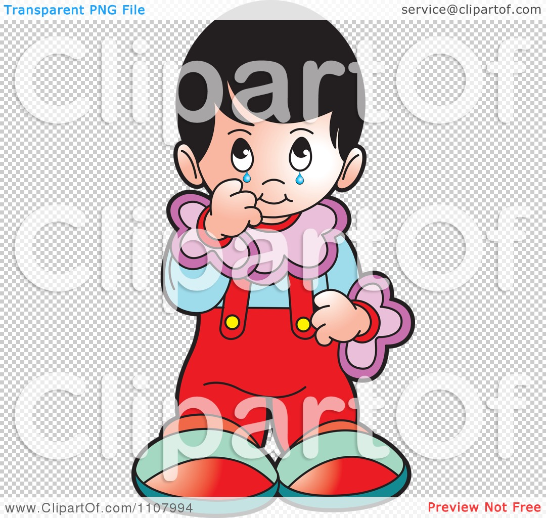 Clipart Crying Girl.