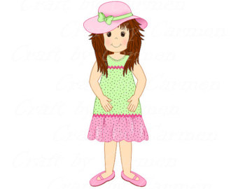 Transparent Girl Clipart.