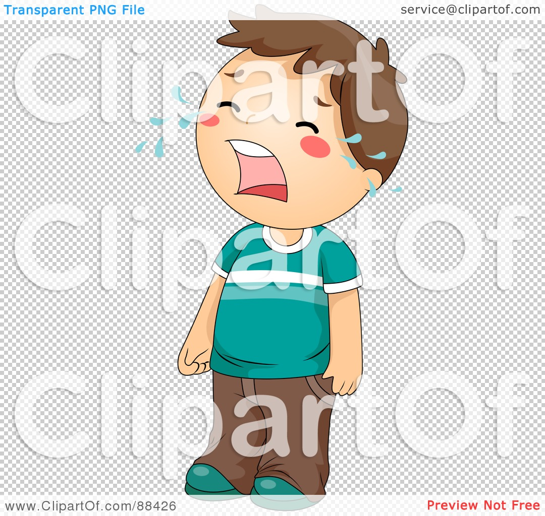 Clipart Crying Boy Transparent.