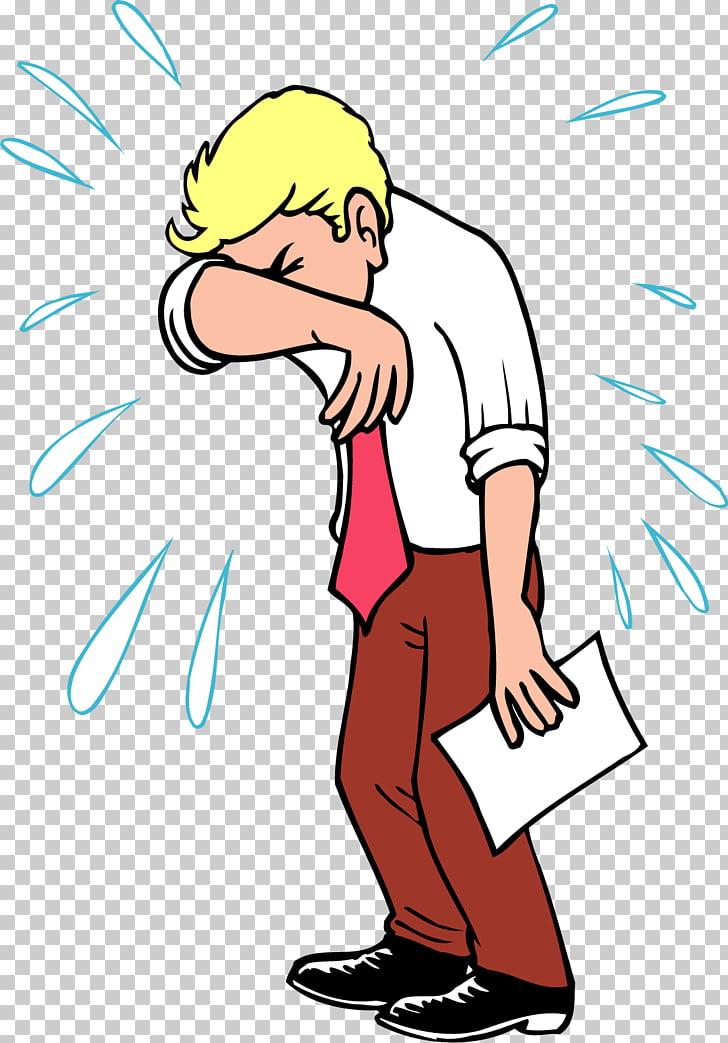Crying Cartoon Drawing , painted crying man PNG clipart.