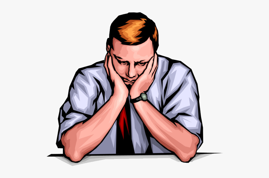Depression Sadness Person Clip Art Bored Cliparts.
