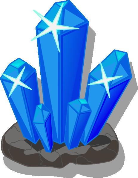 Crystals Clip Art at Clker.com.