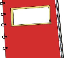 Cuaderno clipart » Clipart Portal.