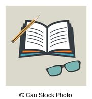 Cuaderno Clip Art Vector Graphics. 1 Cuaderno EPS clipart vector and.