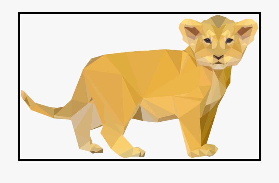 Paw Clipart Lion Cub.