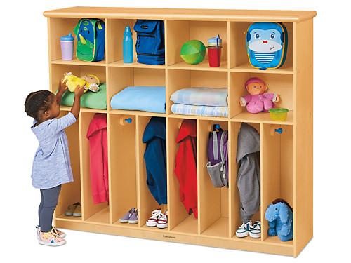 First Steps® Cubbies & Coats Storage Center.