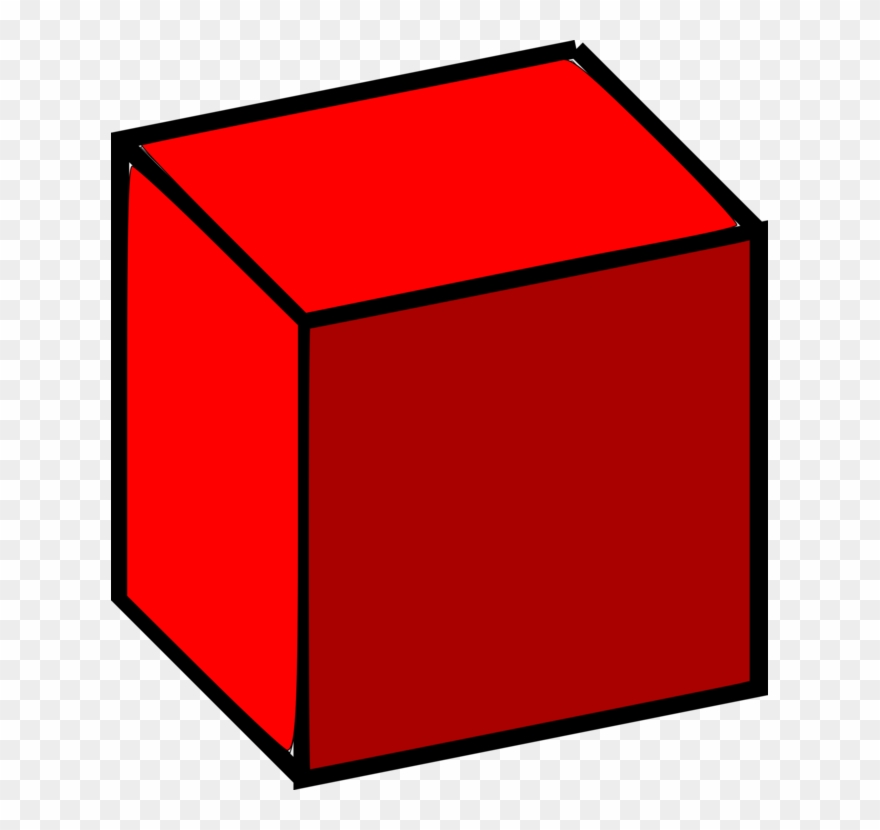 Cube clipart dimensional, Cube dimensional Transparent FREE.