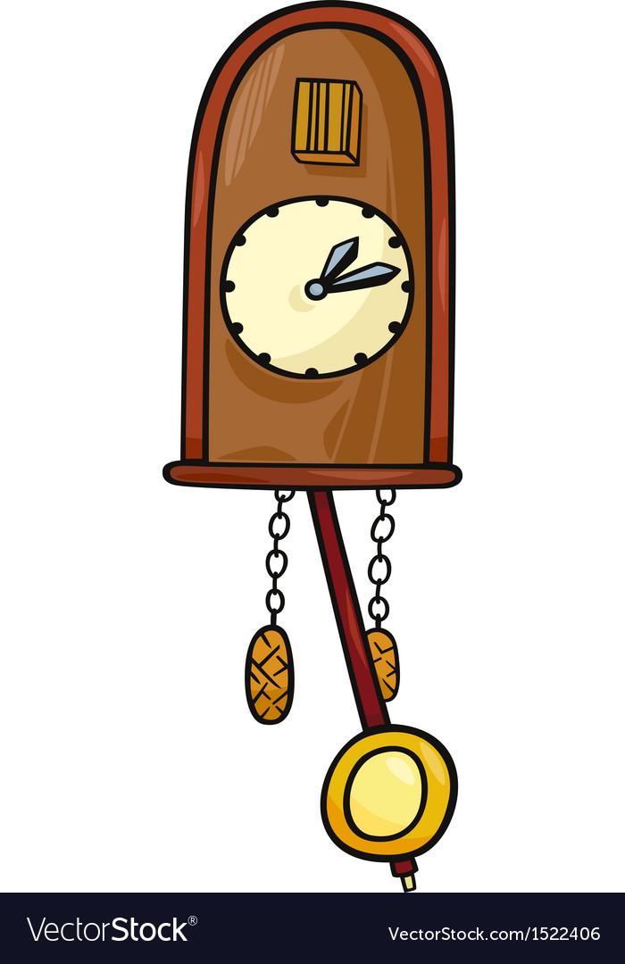 Cuckoo clock clip art cartoon.