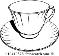 Cup saucer Clipart Vector Graphics. 7,070 cup saucer EPS clip art.