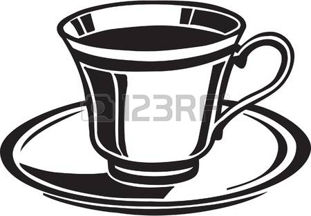 17,334 Cup And Saucer Stock Vector Illustration And Royalty Free.
