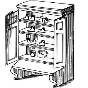 Cupboard clipart, cliparts of Cupboard free download (wmf, eps, emf.